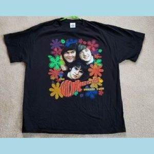 Other - Original The Monkees 2001 Summer Tour List T-Shirt